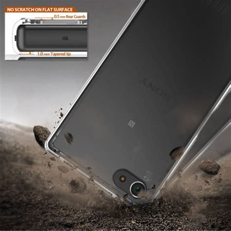Rearth Ringke Sony Xperia Z5 Fusion Xperia Z5 Smoke Bla Berkualitas rearth ringke fusion sony xperia z5 compact smoke