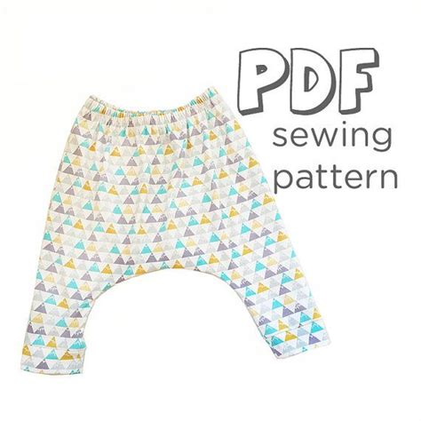 pattern harem pants baby harem pants pattern pdf download baby and toddler