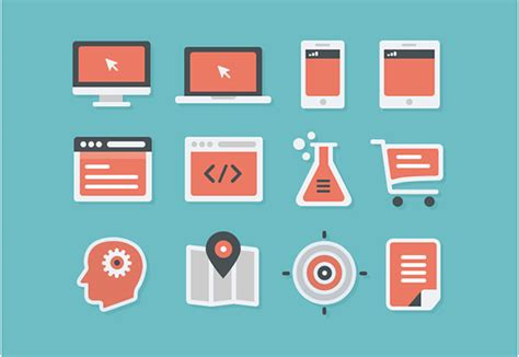 flat design icon download 50 free flat and gorgeous icon sets for the modern designer
