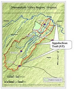 appalachian trail map appalachian trail su bries