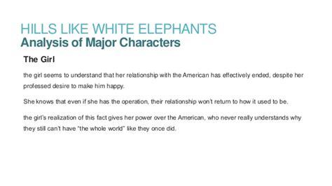 Like White Elephants Essay by Like White Elephants By Ernest Hemingway