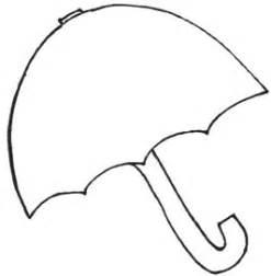 preschool umbrella template chapter craft patterns tslac