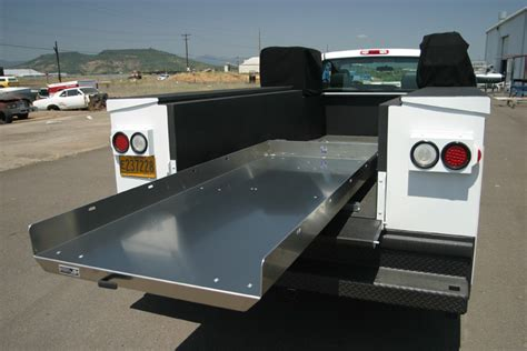 truck bed slide out pickup truck bed slide out cargo trays cer shell