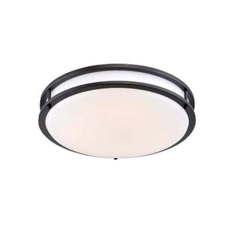 Low Profile Led Ceiling Light Envirolite 14 In Rubbed Bronze White Low Profile Led Ceiling Light Ev1414led 34 The Home