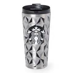 Starbucks Tumbler Iconic City a slender stainless steel coffee tumbler with a smooth