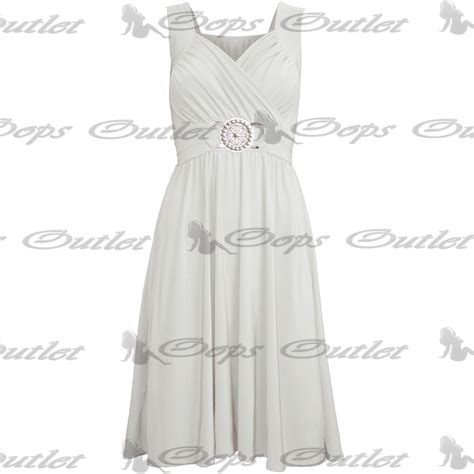 Clothes My Back 282008 2 by Womens Midi Dress Sleeveless Wrapover Silver Badge