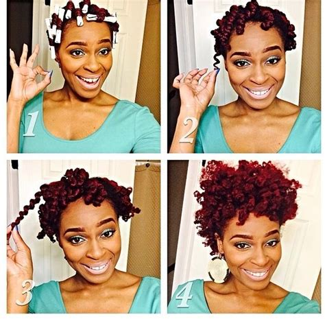 double stranded rods hairstyle 258 best notable natural hair styles images on pinterest