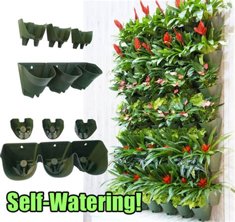 Self Watering Vertical Garden Say Hello To The Quot Self Watering Quot Vertical Planter