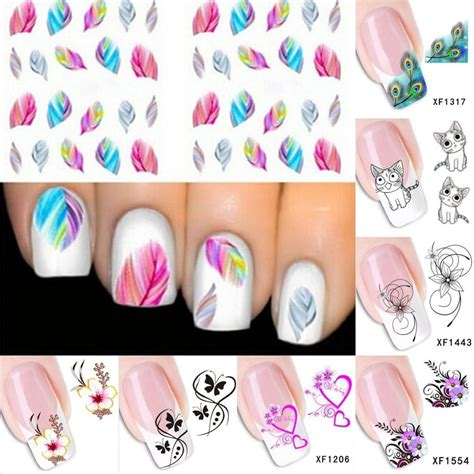 Nail Decals by 3d Nail Sticker Water Transfer Stickers