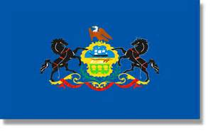 of pennsylvania colors state flag descriptions