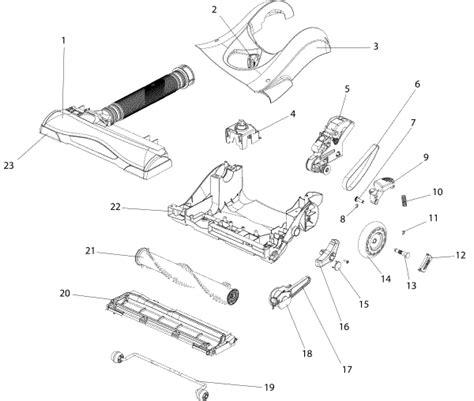 diagram eureka eureka as1104a air speed vacuum parts