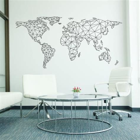 stickers for walls uk world map wall stickers vinyl wallboss wall stickers