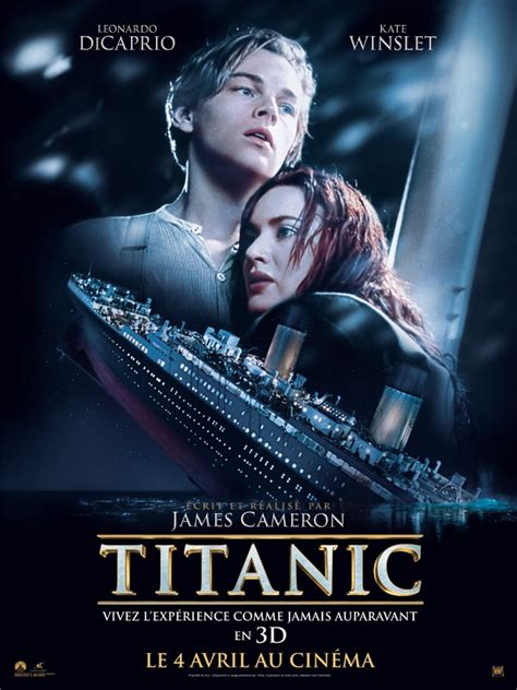 film titanic résumé en anglais titanic les ecrans de paris
