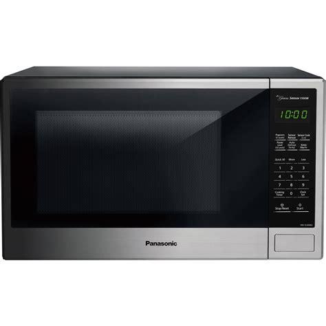 Microwave Panasonic panasonic nn su696s genius microwave oven 1 3cuft mwo built in ss nnsu696s ebay