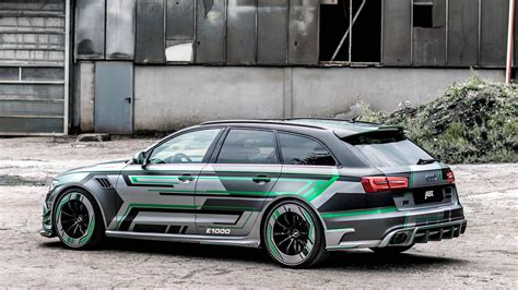 Abt Audi Rs6 by Abt Audi Rs6 E Hybrid Concept To 1004hp And Whopping