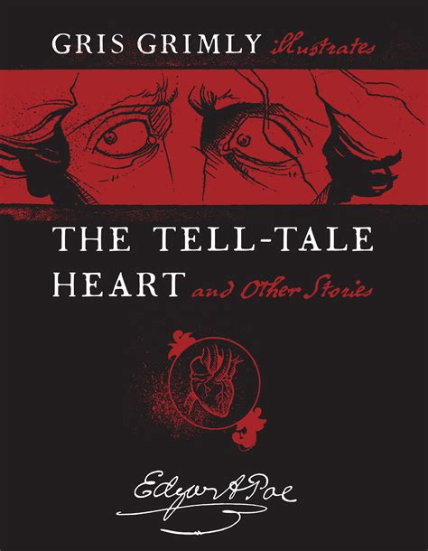 edgar allan poe biography the tell tale heart gris grimly official publisher page simon schuster