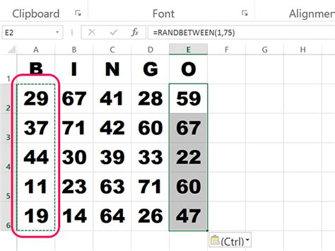 how to make a bingo card in excel how to make bingo cards in excel techwalla