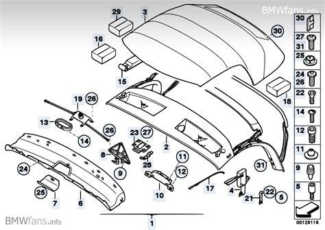 free download parts manuals 2009 bmw z4 m roadster head up display folding top bmw z4 e85 z4 2 5i m54 bmw parts catalog