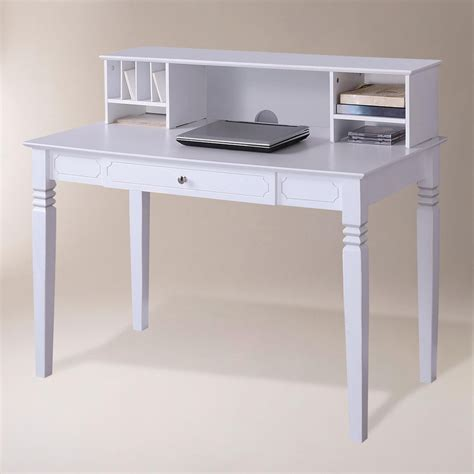 white desk and white desk with hutch ikea micke corner workstation