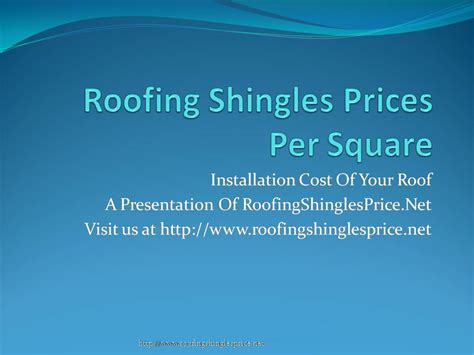 mishas roofing blog roofing shingles price  square