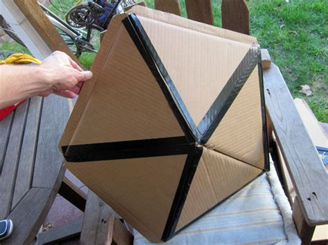 How To Make A Paper Dome Step By Step - folding geodesic dome 5