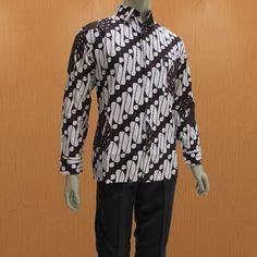 Hem Sogan Colet Hem Pria Hem Batik model baju batik pria lengan pendek motif parang model