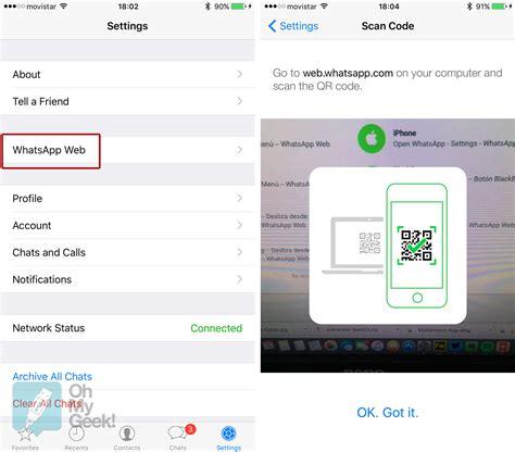 whatsapp web ya est disponible para iphone whatsapp web ya est 225 disponible para usuarios de iphone