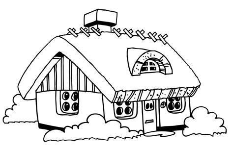 Free Printable House Coloring Pages For Kids Home Coloring Page