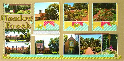 double layout scrapbook pages double up no 11 make a 2 page layout from a 1 page