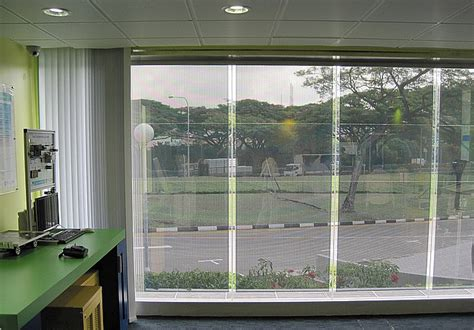 solar panel curtains highly see through transparent solar curtains