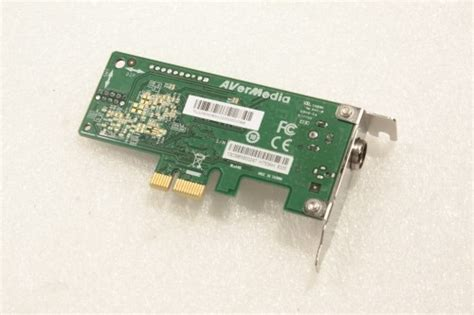 Tv Tuner Pci avermedia pci express x1 tv tuner card low profile h753ah