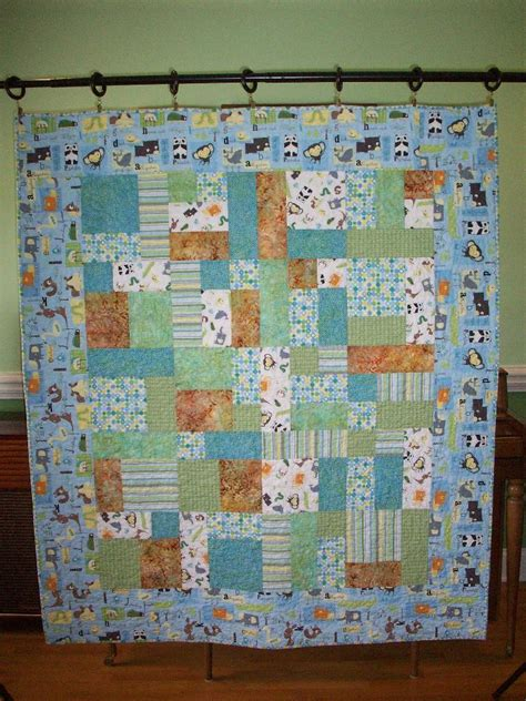 Quilt Pattern Baby quilting by judith animals alphabet baby quilt