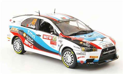 Rallye Auto Gruppe N by Mitsubishi Lancer Evolution X No 47 Sieger Gruppe N Rally