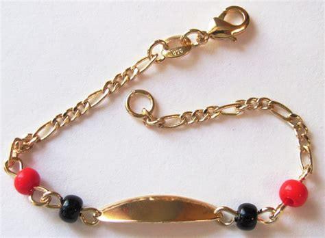 azabache coral bracelet 14 kt gold overlay