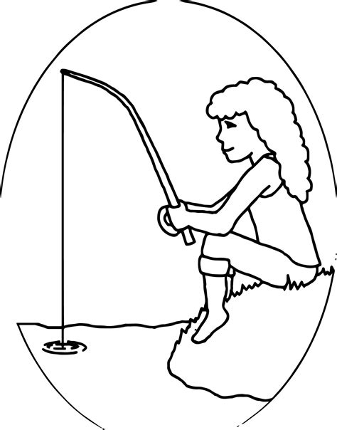 fishing coloring pages fishing bobber page coloring pages