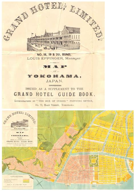 grand map and guide book 1898100326 the grand hotel limited guide book for