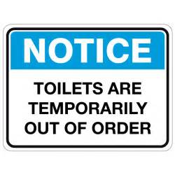 Out Of Order Bathroom Sign by Printable Bathroom Out Of Order Sign Tomthetrader