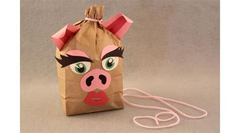 How To Make A Paper Bag Pinata - paper bag pinata