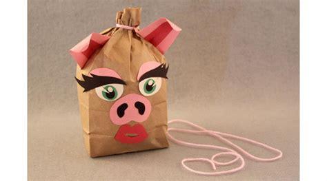 How To Make A Paper Bag Pinata - paper bag pinata