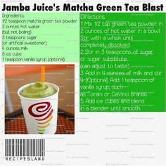 Screaming E Juice Matcha matcha green tea smoothie or iced latte recipe matcha green teas and green tea smoothie