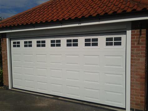 double automatic garage door garage door company grantham