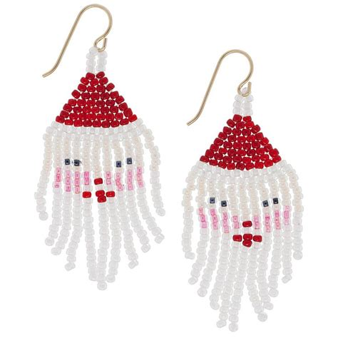 christmas kringle themes kris kringle earrings fusion beads inspiration gallery