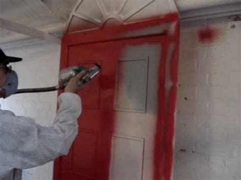 How To Spray Paint Interior Doors by Spray Paint Doors