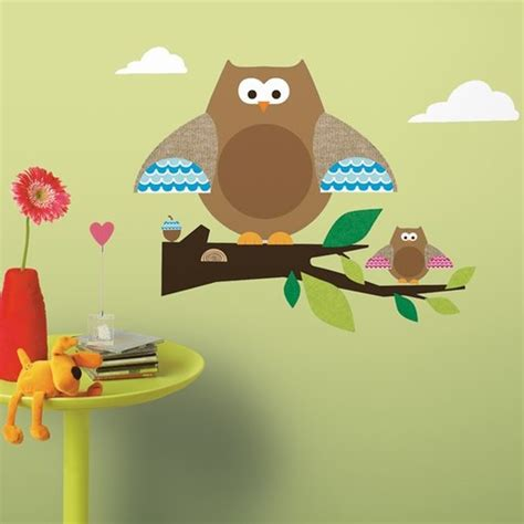 roommates wall stickers uk owl branch wall stickers roommates