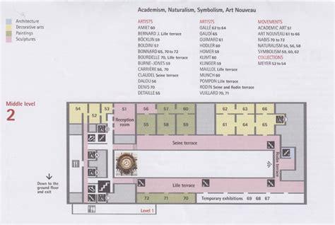 Musee D Orsay Floor Plan by Mus 233 E D Orsay 1 Rue De La L 233 Gion D Honneur 7e