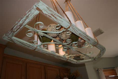 Hanging Pot Rack Light Fixture Repurposed Window Made Into A Light Fixture Or Pot