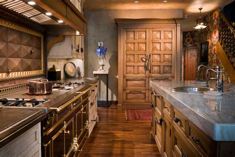 Kitchen Chicago by Lyfe Kitchen Chicago Kitchen Eclectic With Brass Hardware