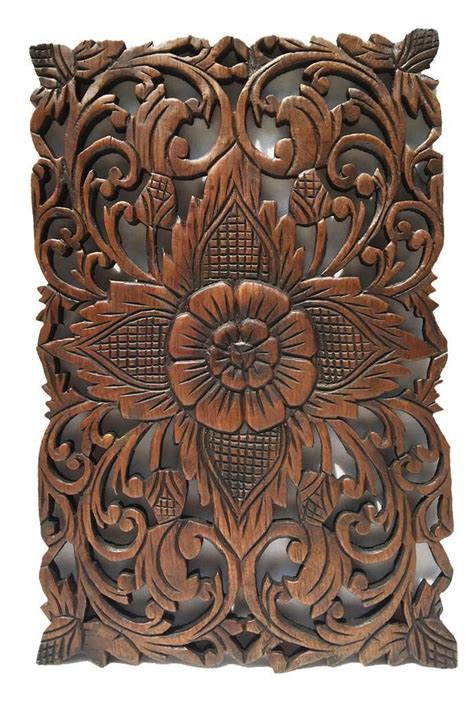 best 25 carved wood wall ideas on thai decor asian panel beds and asian beds