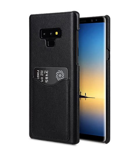 9 Samsung Cases Premium Leather Card Slot Cover For Samsung Galaxy Note 9 Black Ver 2
