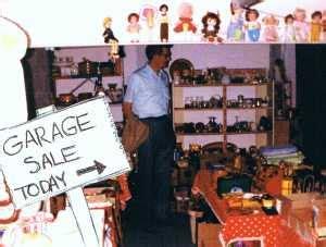 garage saling yard sale shopping yard sale tips